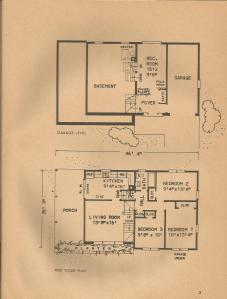 Vintage house plans 1970s ranch homes split levels and for 1970s ranch house plans