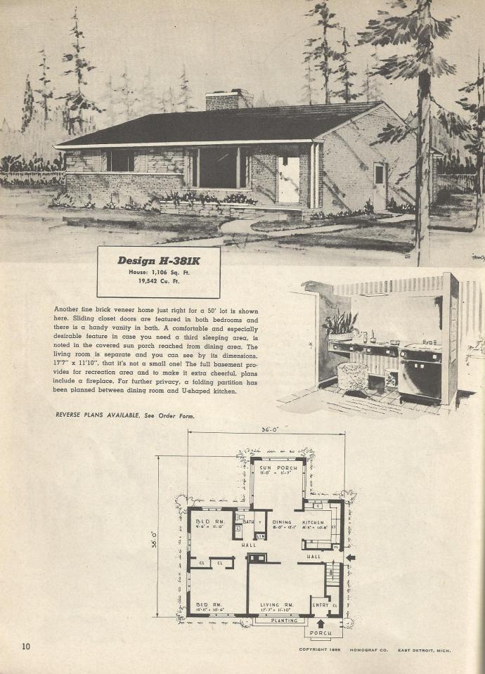 Vintage House Plans 381k Antique Alter Ego