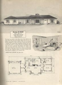 Vintage house plans 1950s farm colonial ranch and duplex for Vintage ranch house plans