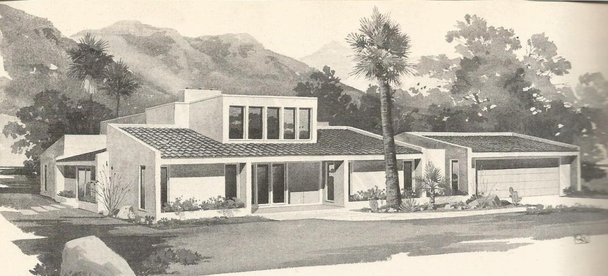 Vintage house plans 1970s contemporary designs part 2 for Modern 80s house