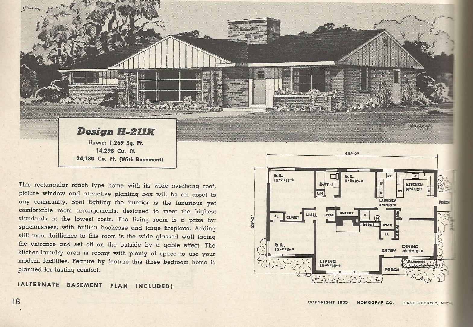 Vintage house plans 211 antique alter ego for Antique house plans