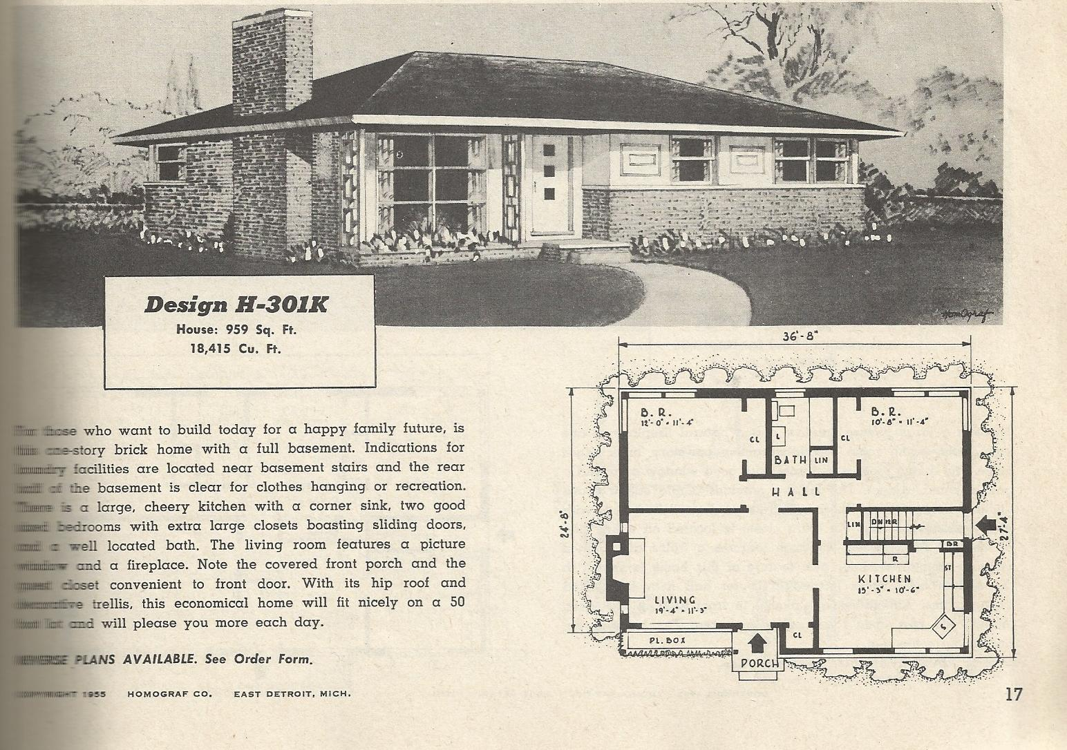 1950S House Stunning Vintage House Plans 1950S Budgetwise Homes  Antique Alter Ego Design Decoration