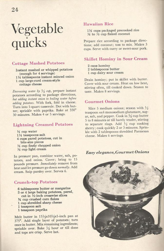 Vintage Recipes Salads Veggies Hot Breads