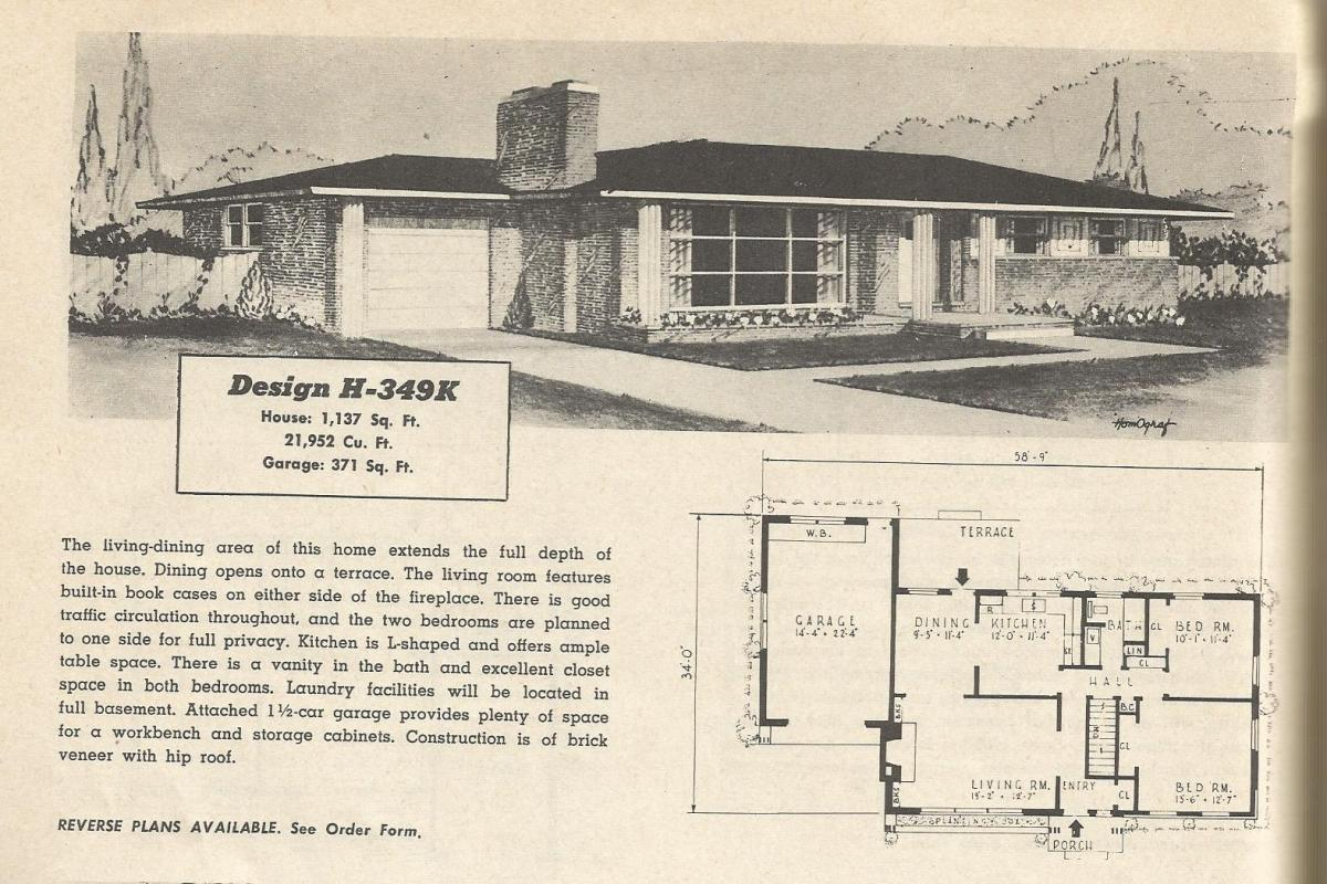 vintage house plans 349 antique alter ego