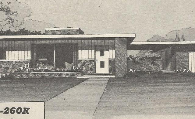 Vintage House Plans 1950s: Mid Century Modern and Modest ...