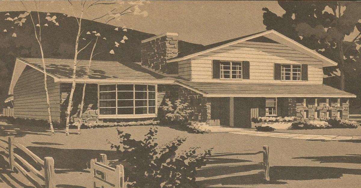 Vintage House Plans: Ranches And Split-Levels
