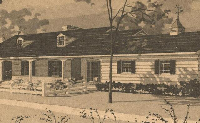 Vintage House Plans Ranches and Chalet Antique Alter Ego