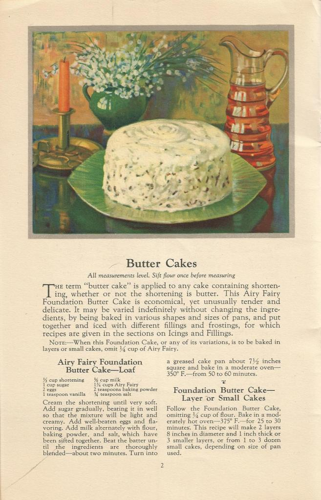 vintage cake recipes, 1920s cake recipes, cake recipes, special occasion cake recipes