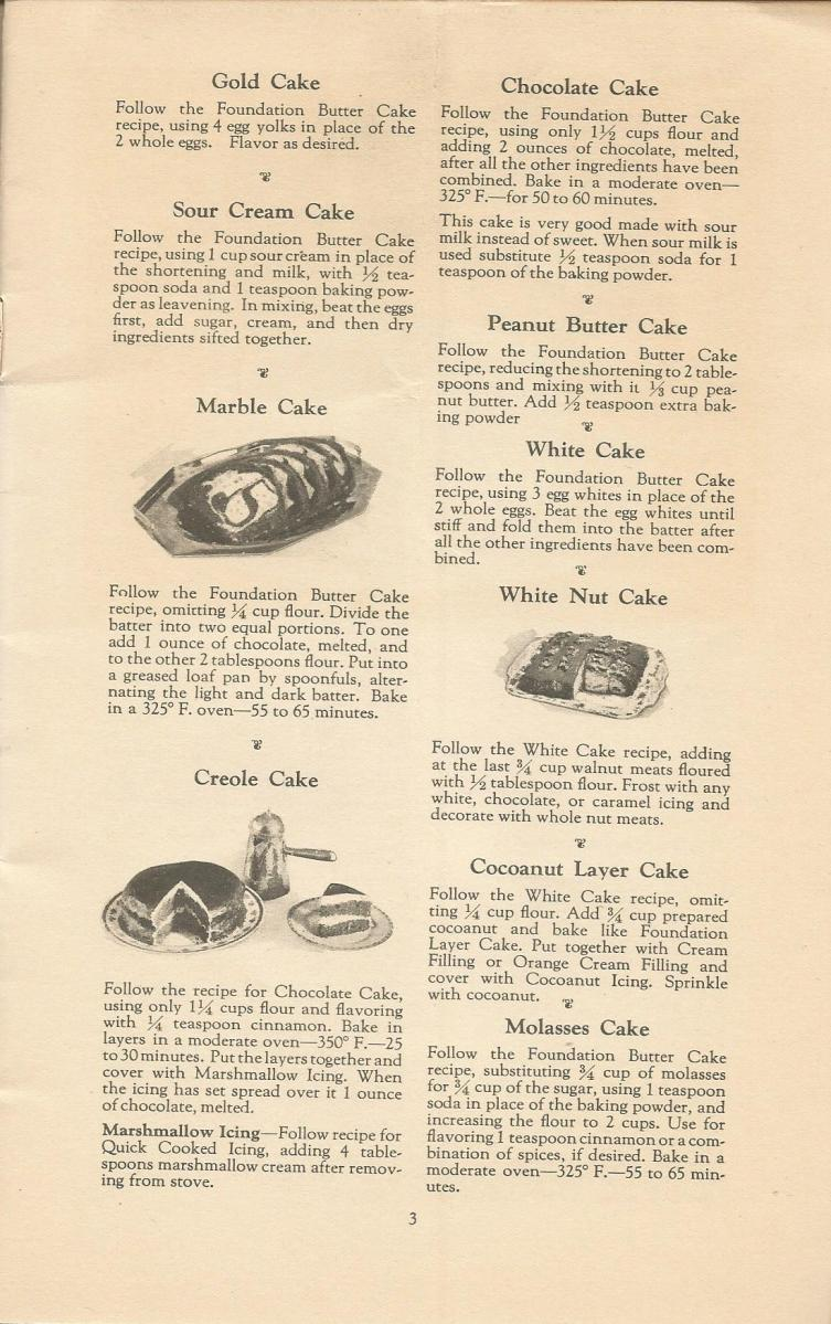 vintage cake recipes, 1920s cake recipes, cake recipes, special occasion cake recipes
