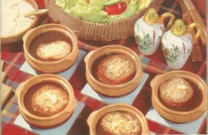 Vintage Recipes, 1950s, 1950s recipes, soups