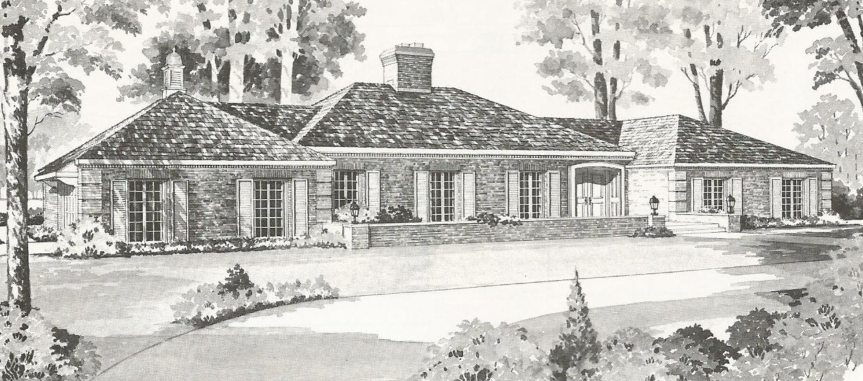 Vintage house plans a antique alter ego for French country tudor house plans