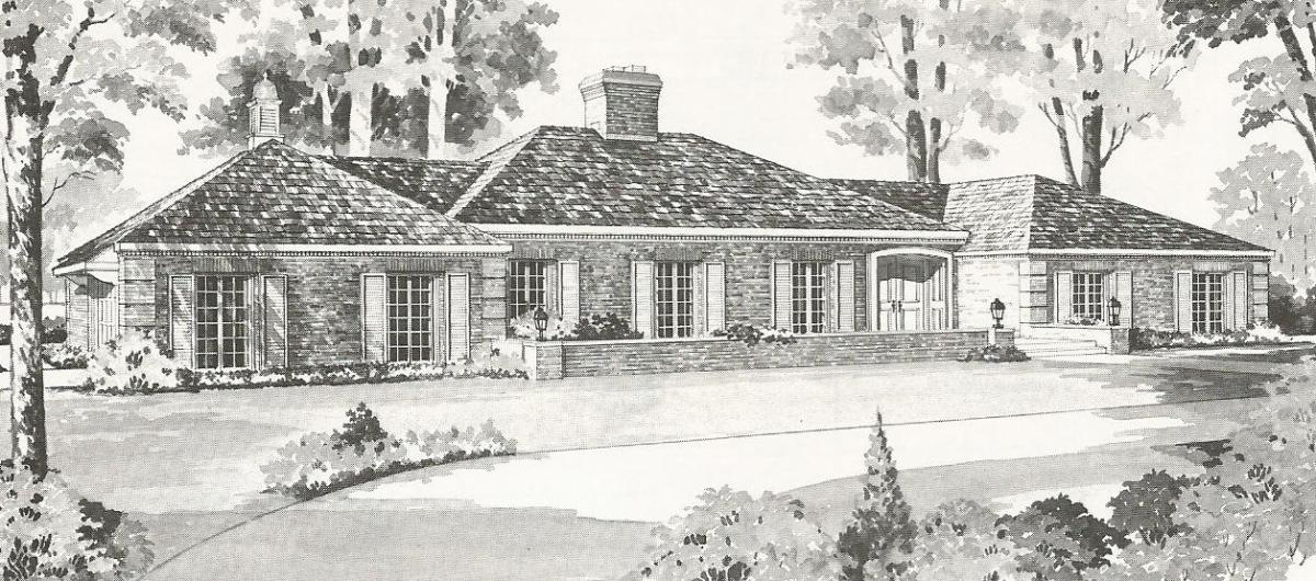 Vintage House Plans French Country And Tudor Styles