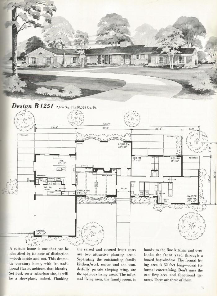 Vintage House Plans: Luxurious Homes Part 2
