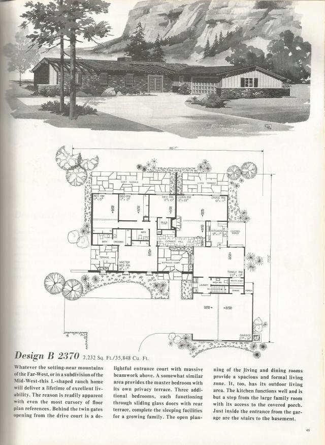 The House Plans Are From Home Planners 185 Home Plans One Story