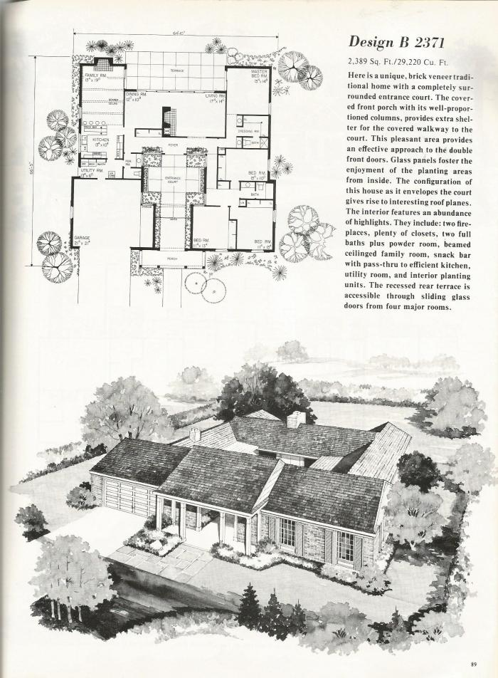 Vintage House Plans, Luxurious Tudor Style Homes