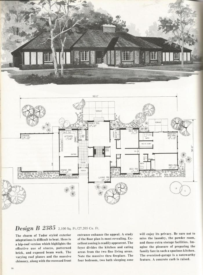 Vintage house plans luxurious tudor style homes antique for Classic tudor house plans