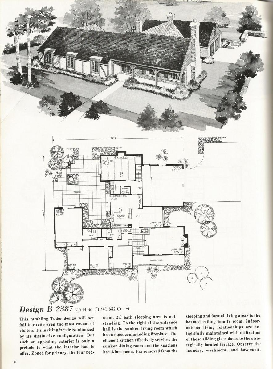 Vintage House Plans 2387
