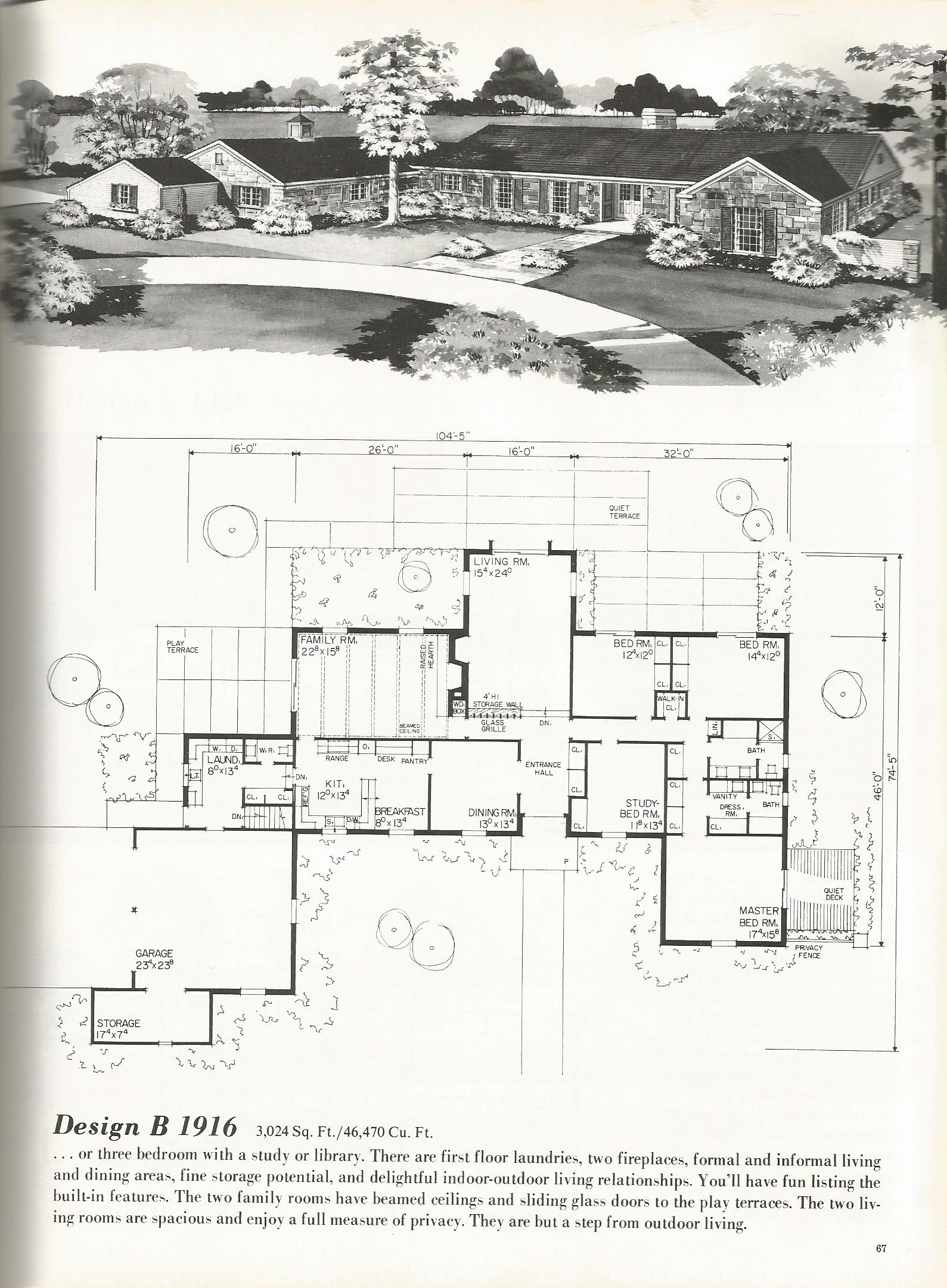 Vintage house plans luxurious homes 1916 antique alter ego for Vintage floor plans