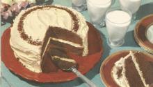 Vintage Recipes, 1950s Cakes