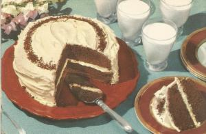 Vintage Recipes, 1950s Cakes