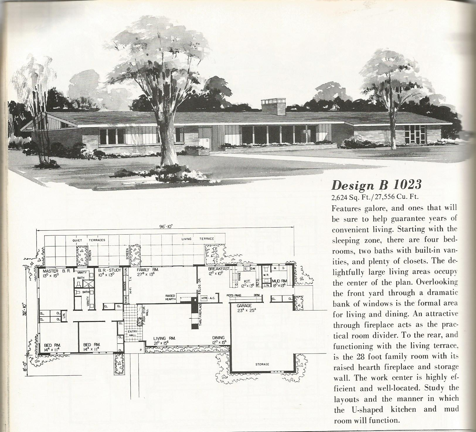 Large Country House Plans Part - 30: Vintage House Plans, Country Estates