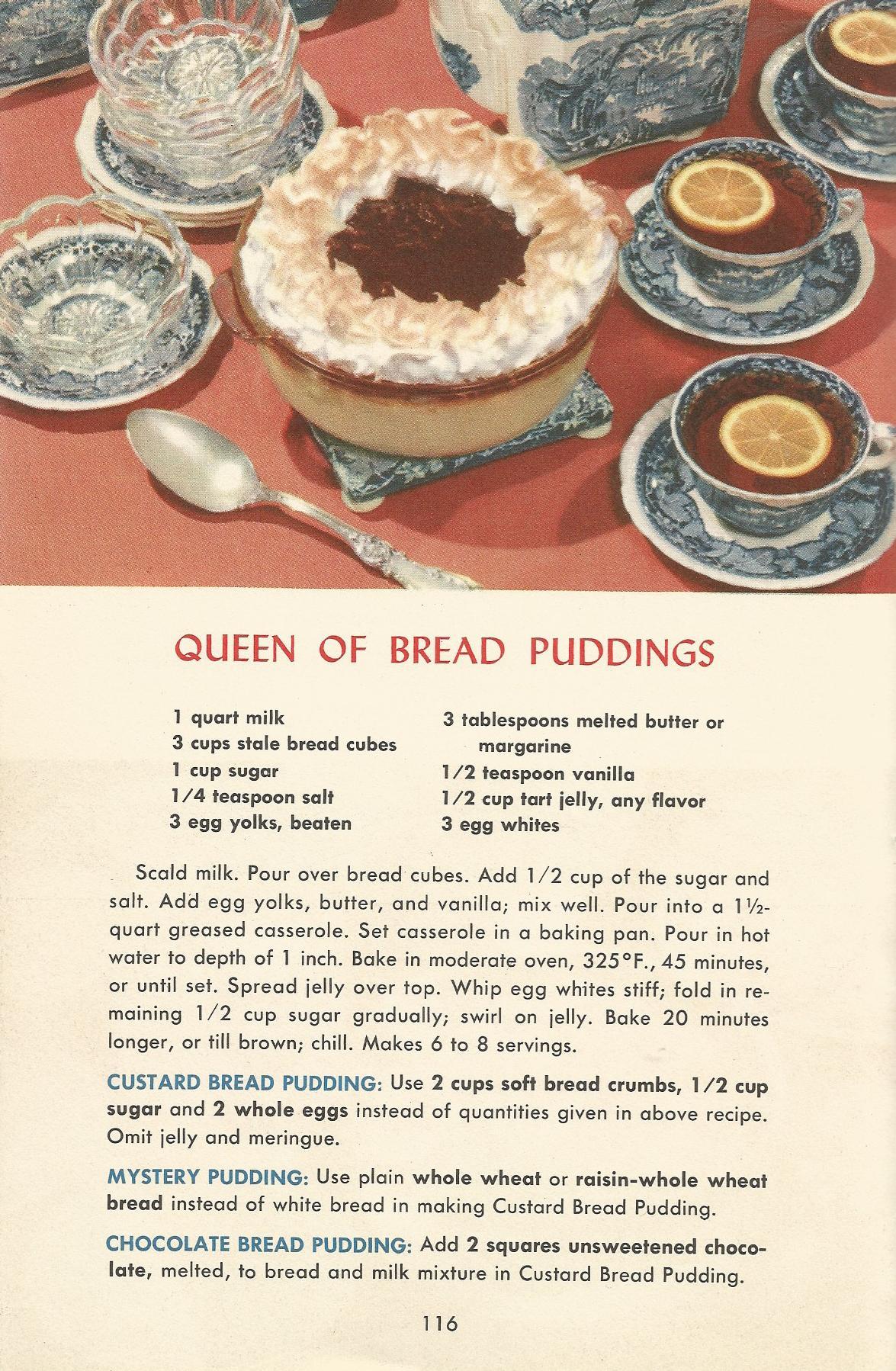 Vintage Recipes 1950s Desserts 6