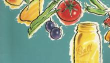 Vintage Recipes, 1950s canning recipes, jams, jellies
