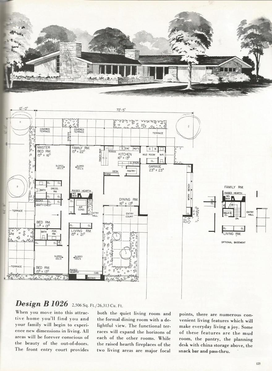 Vintage House Plans 1026