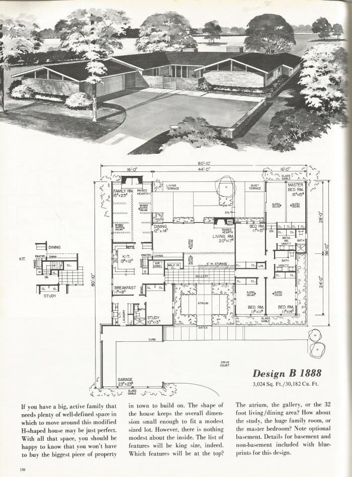 Vintage House Plans New Dimensions In Living Antique: house designs 2000 square feet
