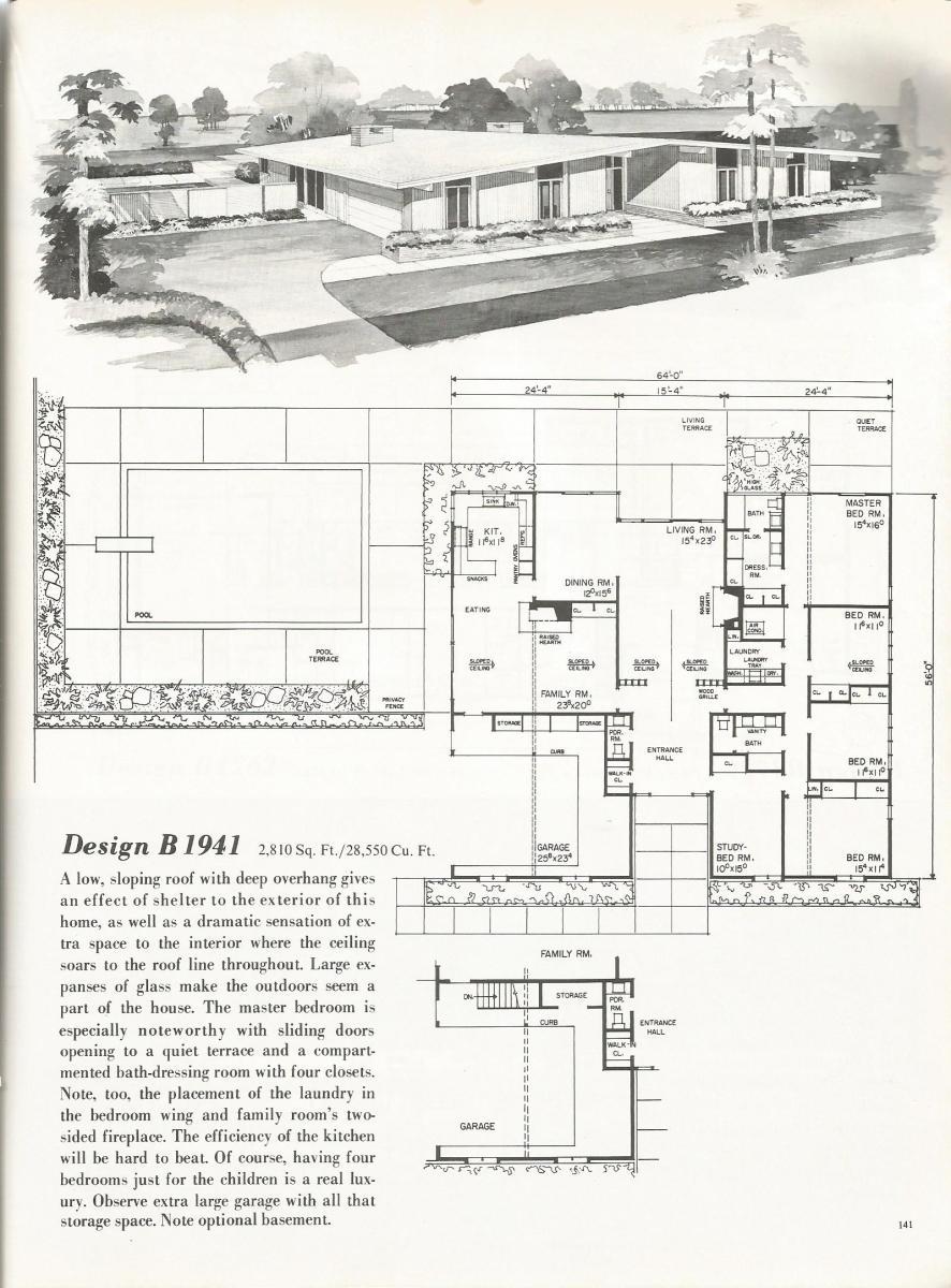 Vintage House Plans 1941