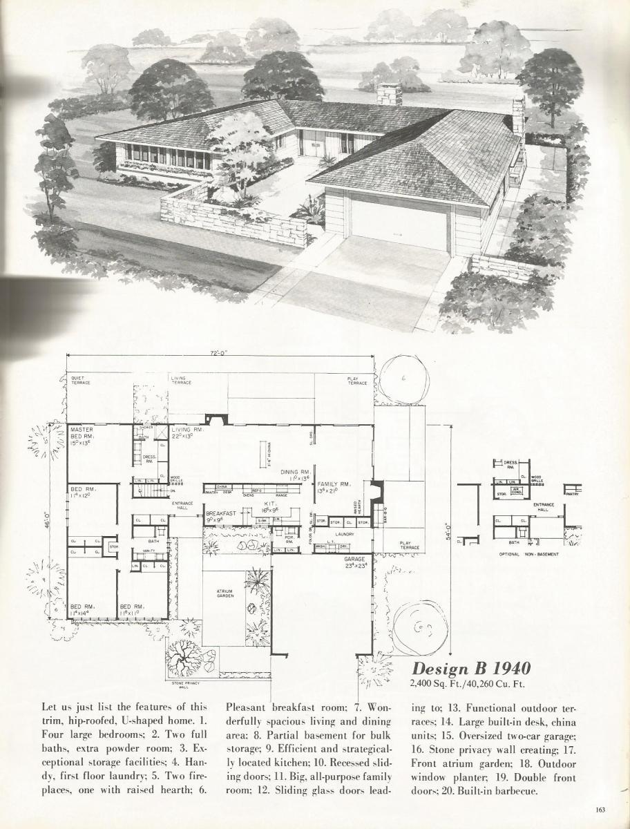Vintage House Plans 1940