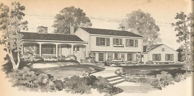 vintage house plans multi level homes part 4 antique multi level home florida mitula homes