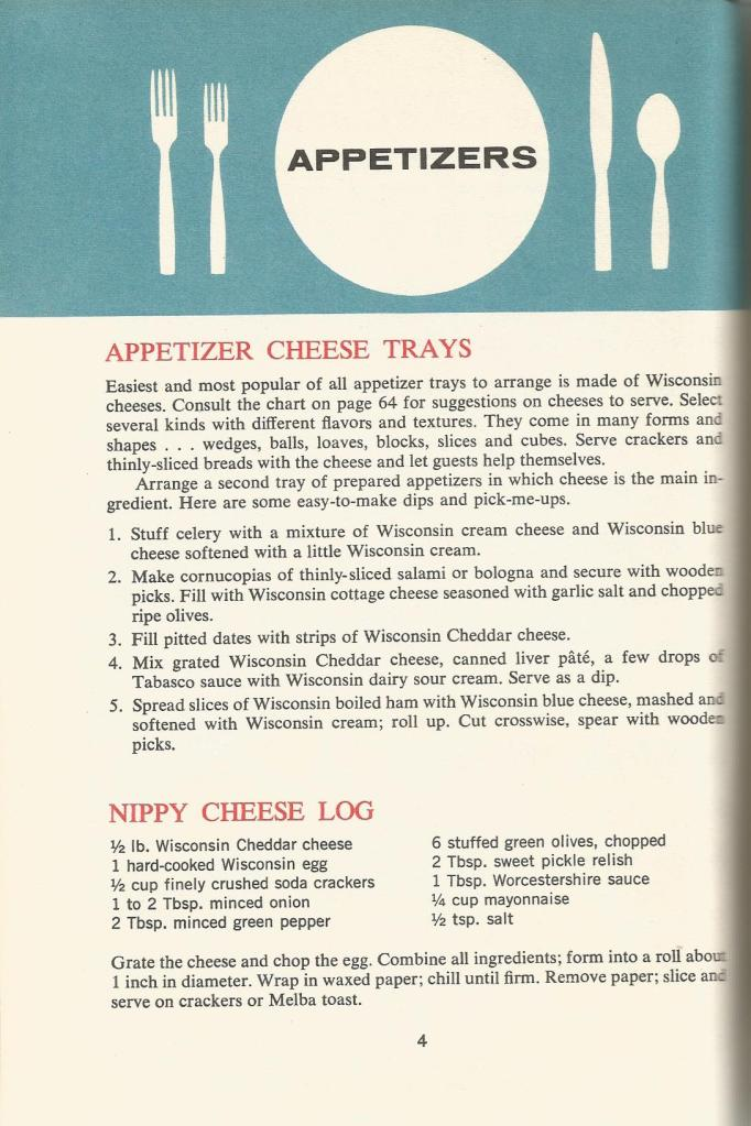 Vintage Recipes, 1960s Appetizers, Deviled Eggs, Cheese Spreads
