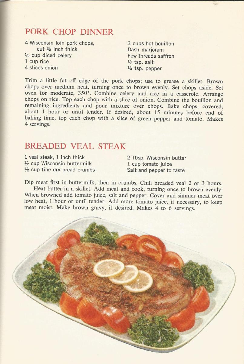 Vintage Recipes: 1964 Meats, Poultry, Fish