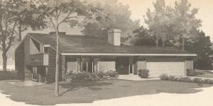 Vintage House Plans, Mid Century Homes