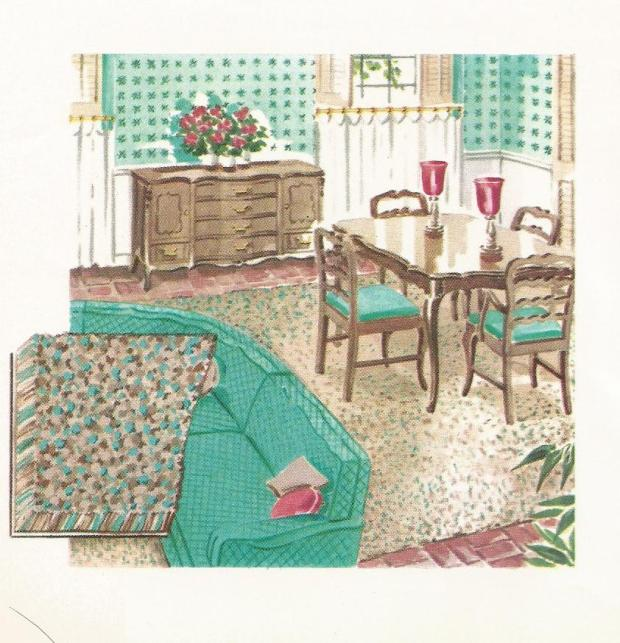 Decorating with Vintage, Sears Harmony House, 1950s
