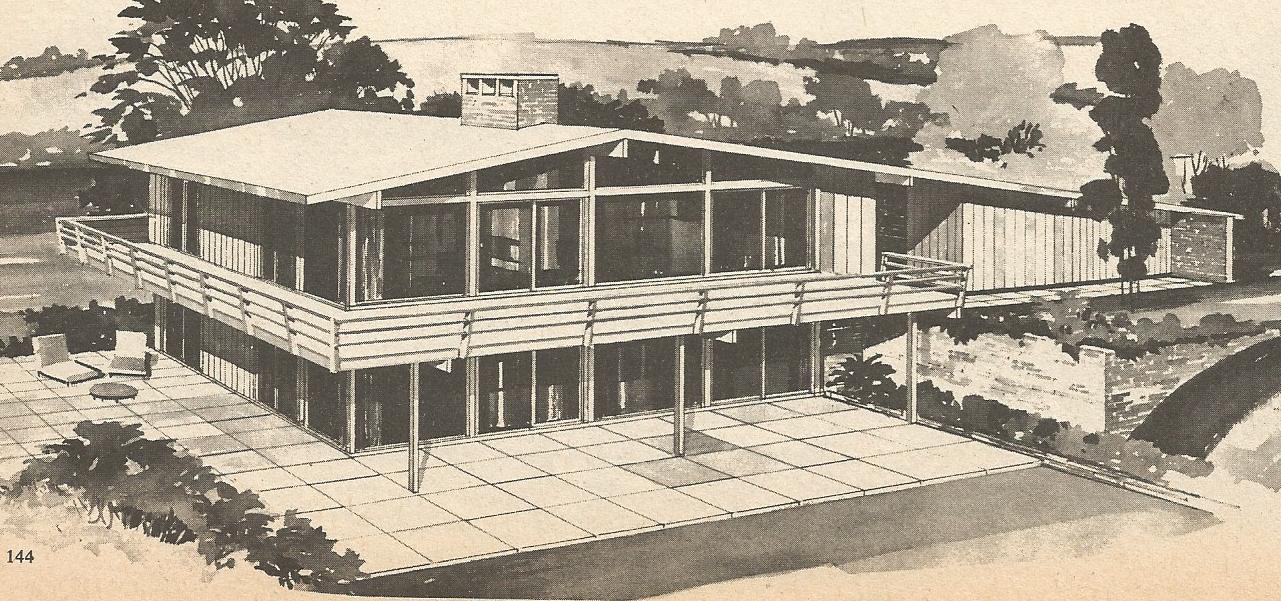 Vintage House Plans Multi Level Homes Part