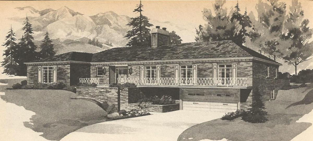 vintage house plans multi level homes part 26 antique a multi level house by japanese studio ihrmk