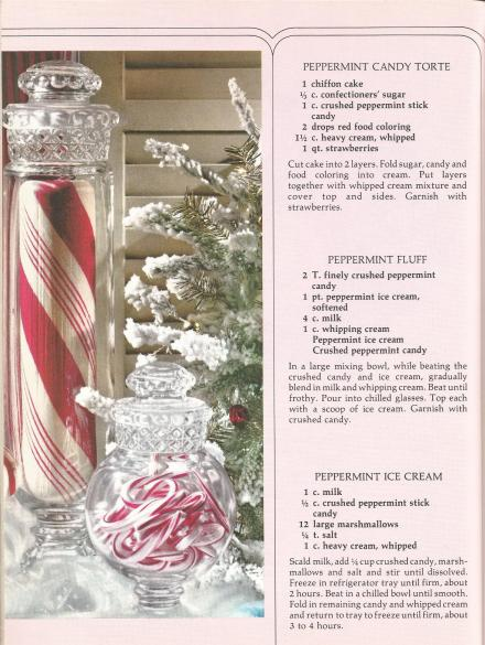 Vintage Recipes Christmas Desserts