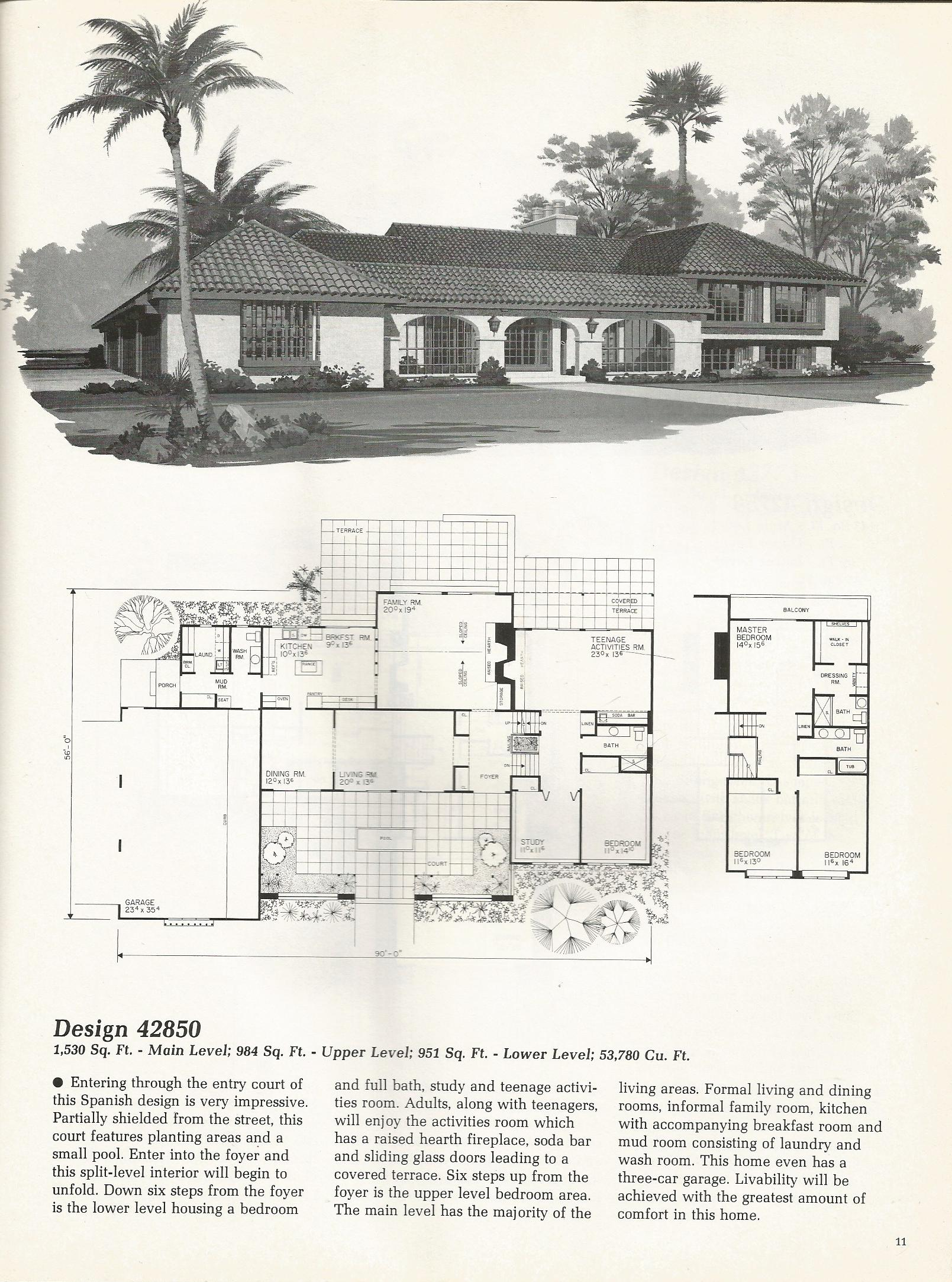 vintage-house-plans-42850 | on house architecture design, product page design, house drawing, sketchup house design, house plans with furniture layouts, house art design, house light design, house perspective design, house construction, house template, house design blueprint, green building design, house green design, house layout design, house study design, house model design, house studio design, house autocad, house painting design, house graphic design,