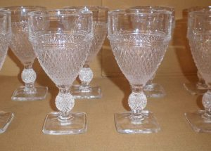 Cambridge Mount Vernon Wine Glasses, Antique Alter Ego