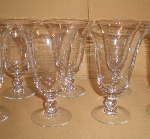 Imperial Candlewick Iced Tea Glasses, Antique Alter Ego