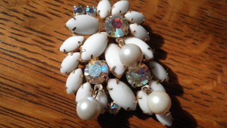 Vintage Costume Jewelry, Antique Alter Ego